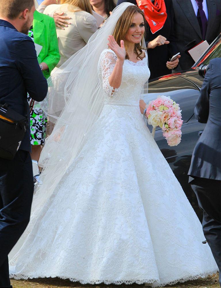 Private: GERI HALLIWELL'S WEDDING DRESS