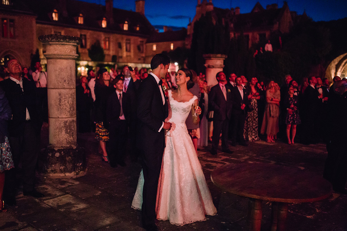 ELISE'S WEDDING IN A FRENCH ABBEY