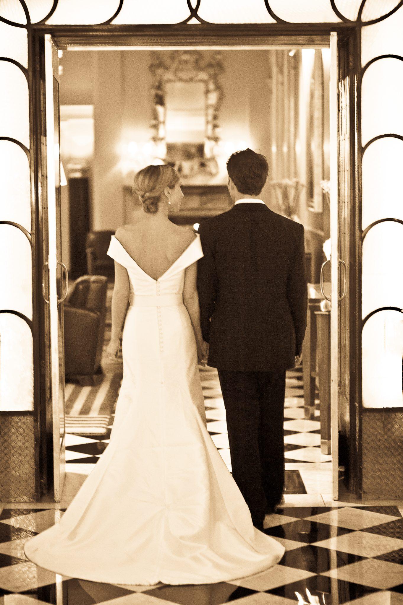 LAUREN HERSHESON'S WEDDING DAY