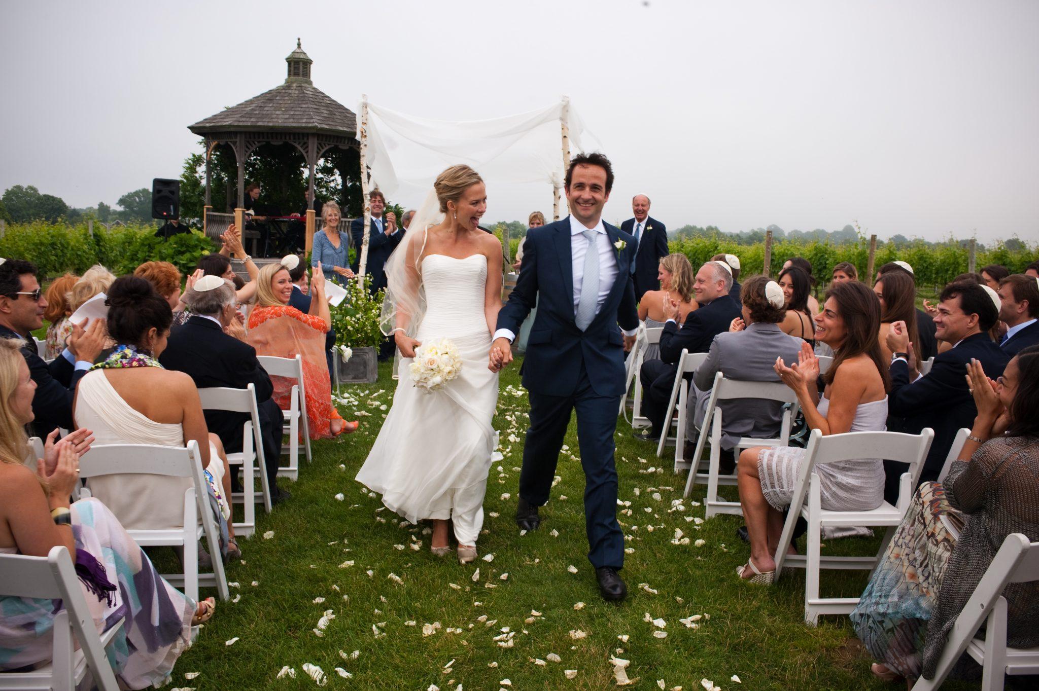 MARISSA HERMER'S WEDDING DRESS