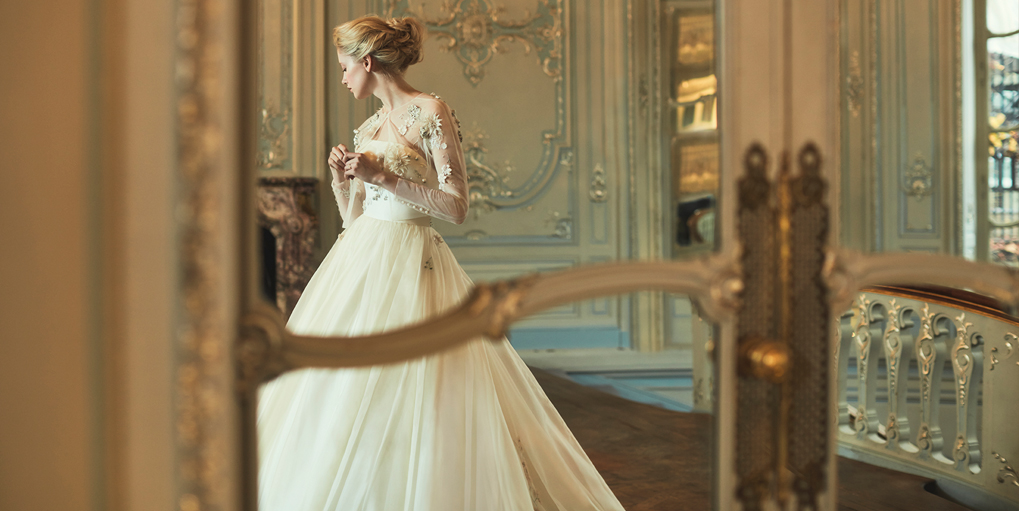Phillipa-Lepley-Organza-Skirt-Embroidered-Couture-Wedding-Dress