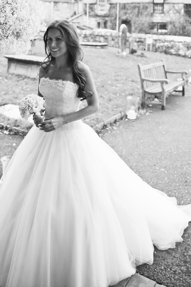 ESYLIT'S TULLE WEDDING DRESS