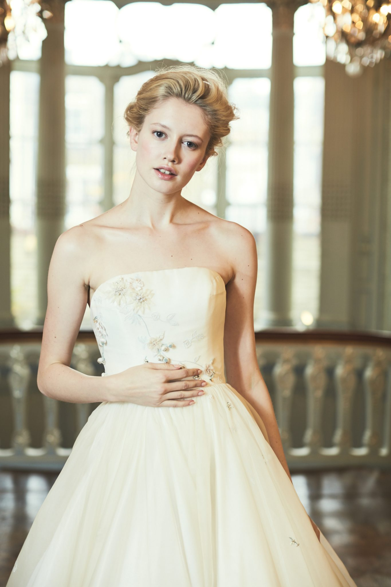 Phillipa Lepley Wedding Gown Strapless