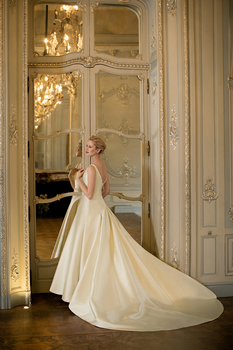 Phillipa Lepley Couture Silk Ballgown wedding dress