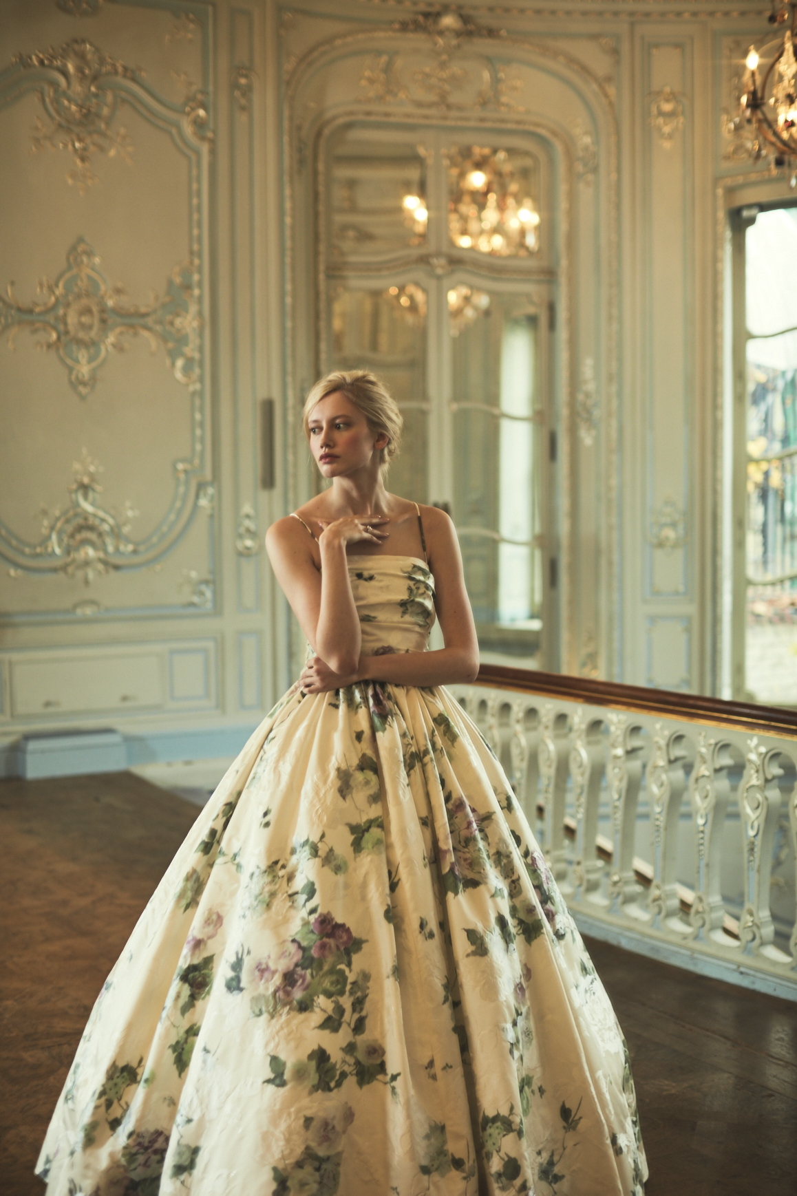 Phillipa Lepley Bespoke Weedding Dress - Toulouse_Pink