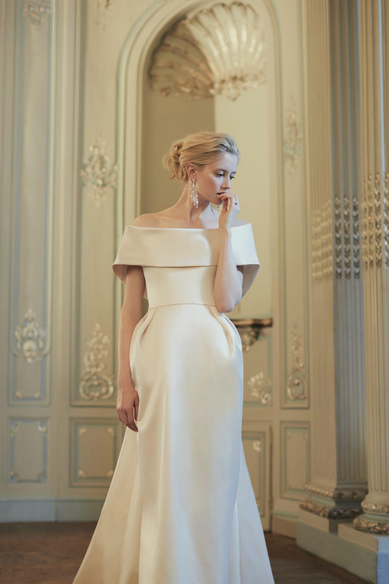 Phillipa Lepley Wedding Dress off the Shoulder