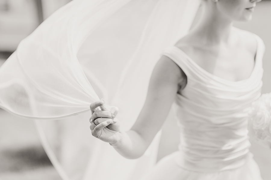 Phillipa Lepley tulle wedding dress
