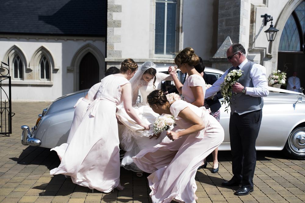 ALEXANDRA'S BEAUTIFUL COUTURE WEDDING DRESS