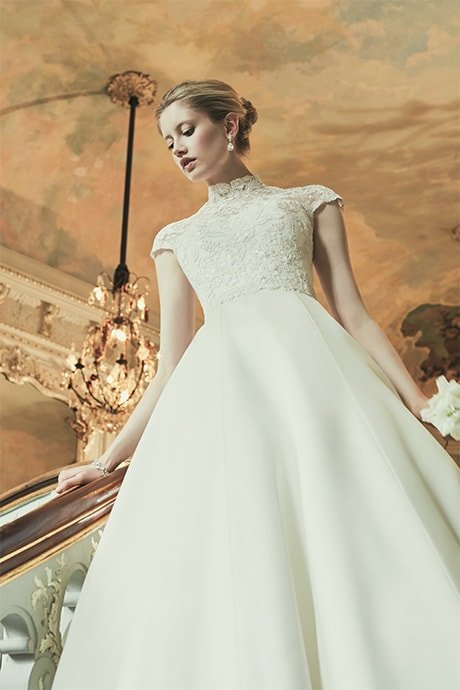 COUTURE WEDDING DRESS – MARGAUX MAIDEN'S FERN