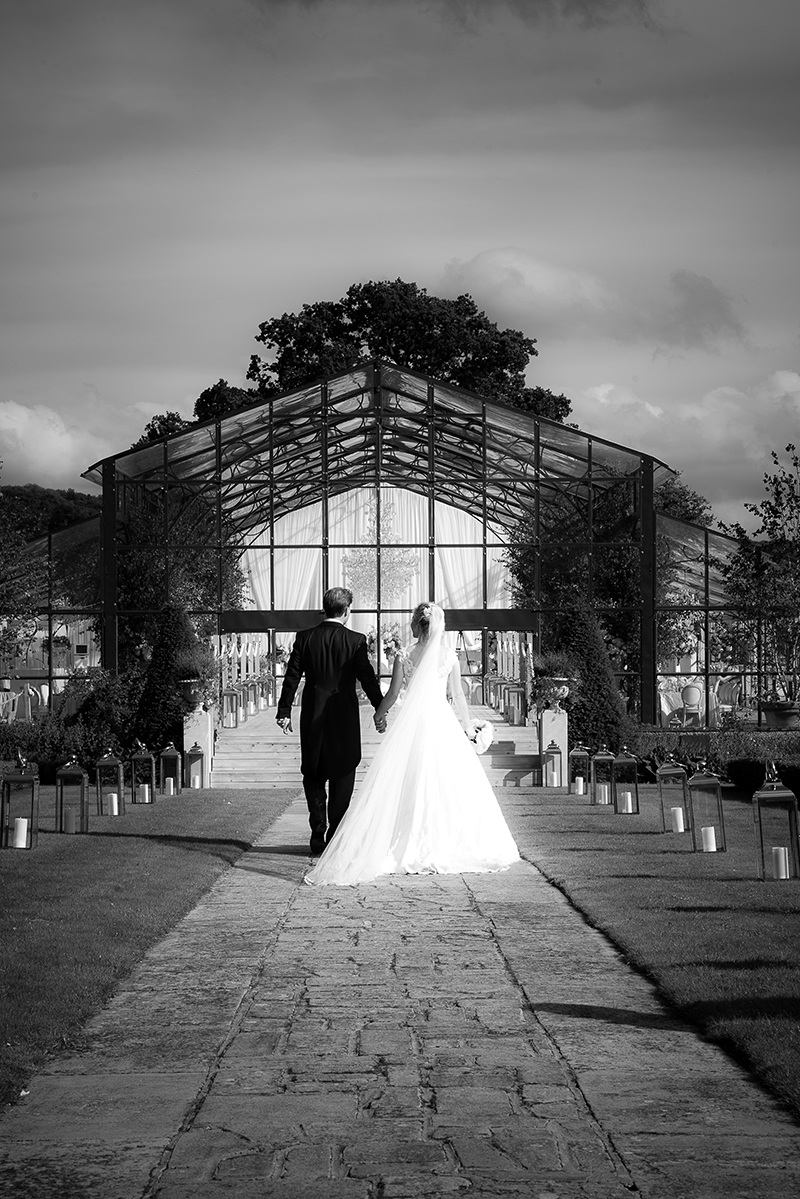 OLIVIA'S GLASS MARQUEE WEDDING