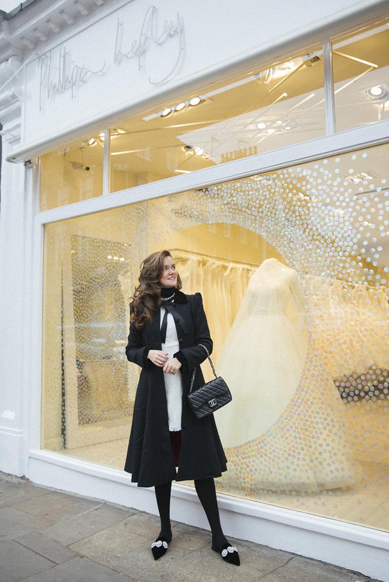 DESIGNING ROSIE THOMAS OF THE LONDONER'S BESPOKE WEDDING DRESS