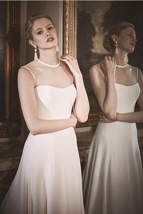COUTURE WEDDING DRESS – CELESTIA CREPE