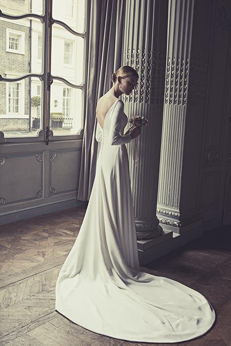 COUTURE WEDDING DRESS: AUTEUIL CREPE
