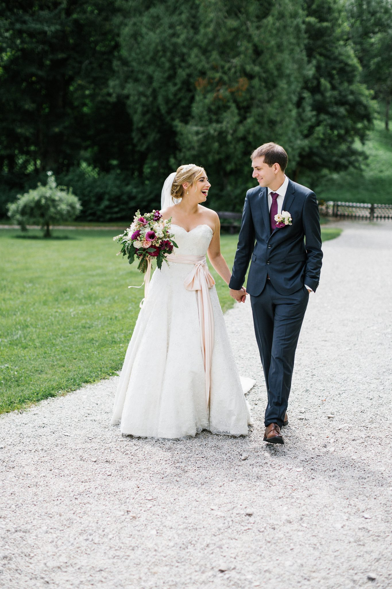 ANNEKE'S BEADED LACE WEDDING DRESS