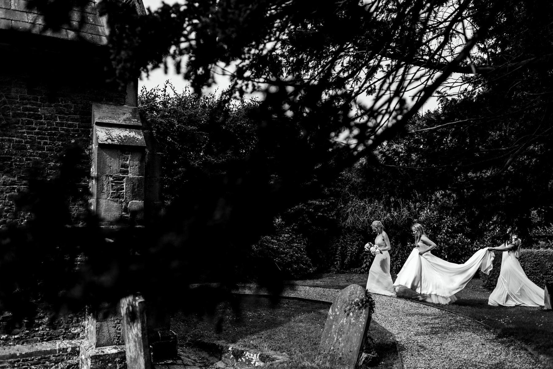 Phillipa Lepley Couture Wedding Dress London Strapless Silk Duchesse Satin Corset Silk Satin Chiffon Floaty Skirt Summer Wedding