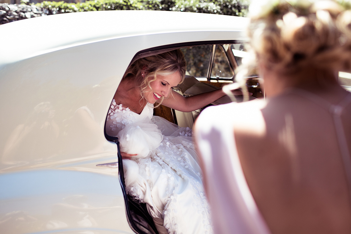 LAURA'S FLORAL WEDDING DRESS