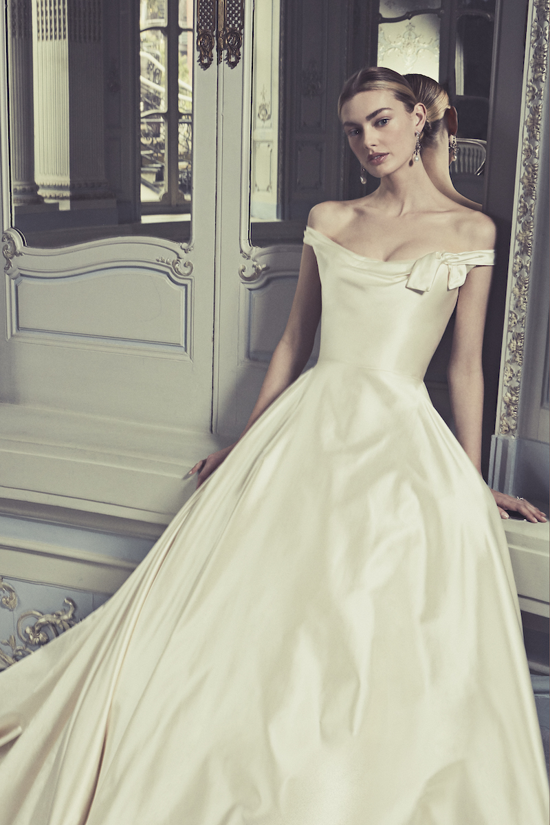 THE DUCHESS SATIN WEDDING GOWN