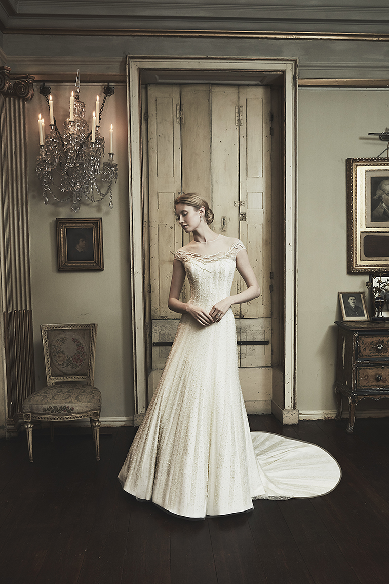 Phillipa Lepley, couture London wedding dress designer