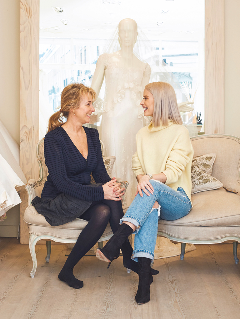 In the Frow's founder Victoria Magrath on creating her dream wedding dress with London wedding dress designer Phillipa Lepley.