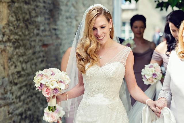 Phillipa Lepley Couture Pearl Beaded Wedding Dress London UK