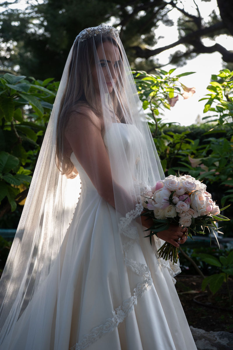 Couture Wedding Dress - Phillipa Lepley - AT VILLA ET JARDINS EPHRUSSI DE ROTHSCHILD