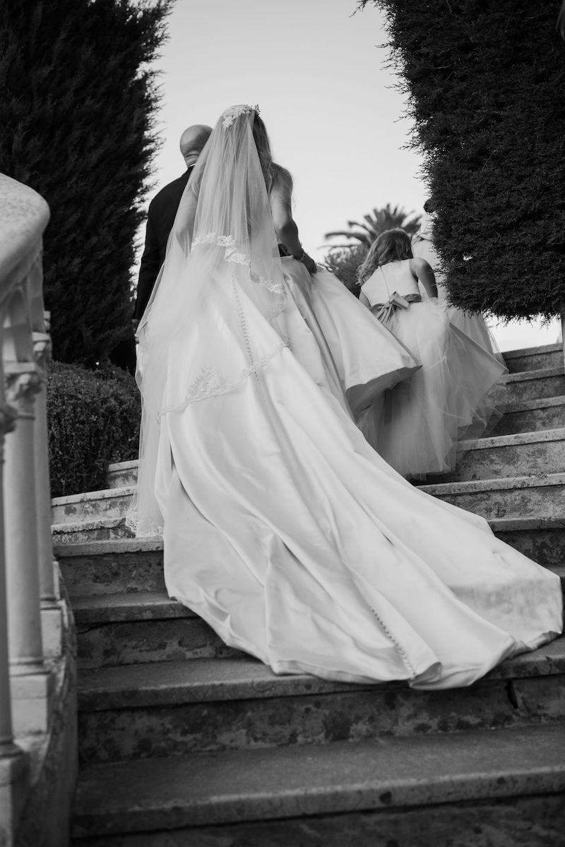 REAL BRIDE: A FAIRY TALE WEDDING AT VILLA ET JARDINS EPHRUSSI DE ROTHSCHILD