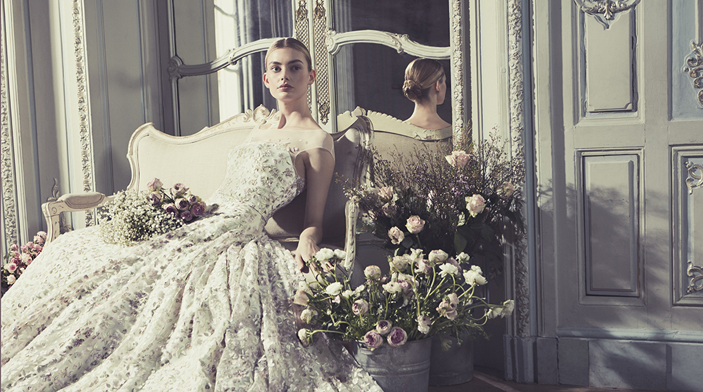 Phillipa-Lepley-Couture-Wedding-Dress-London-UK-Designer-Bespoke-Couture-Thomasina-Magnolia-Jasmine-V-Neckline-Corset-Tulle-Overlay-Embellished-Embroidered-Floral-homepage