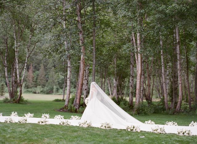 BESPOKE SILK ZIBELINE WEDDING DRESS By Phillipa Lepley, wedding dress designer London