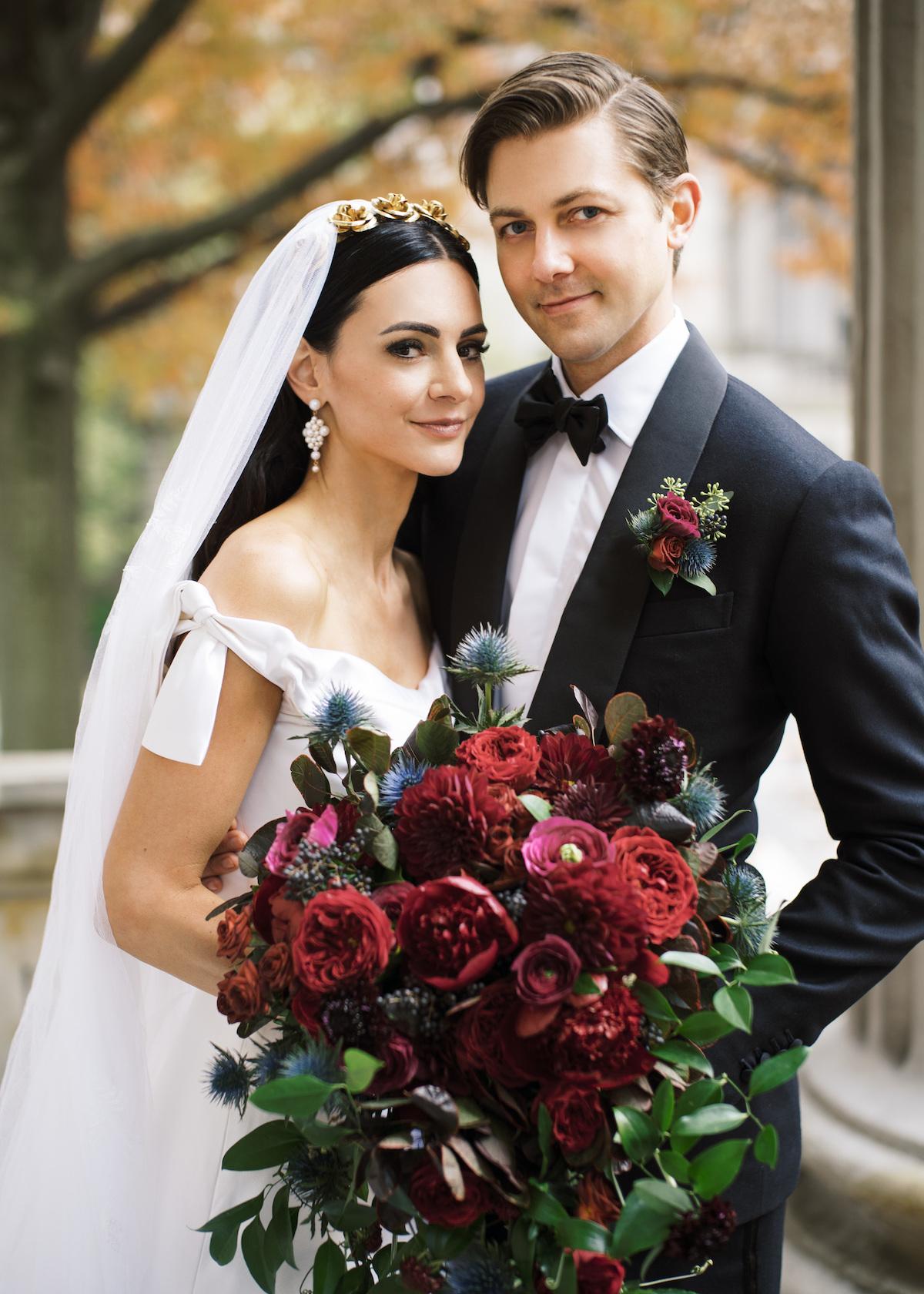 REAL BRIDE: THE FINEST ITALIAN SILK