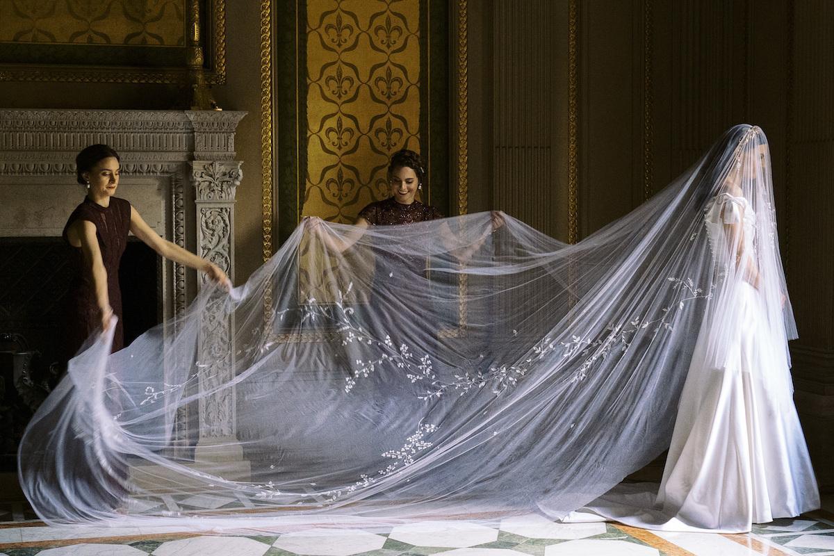 Phillipa Lepley Couture Italian Silk Dress