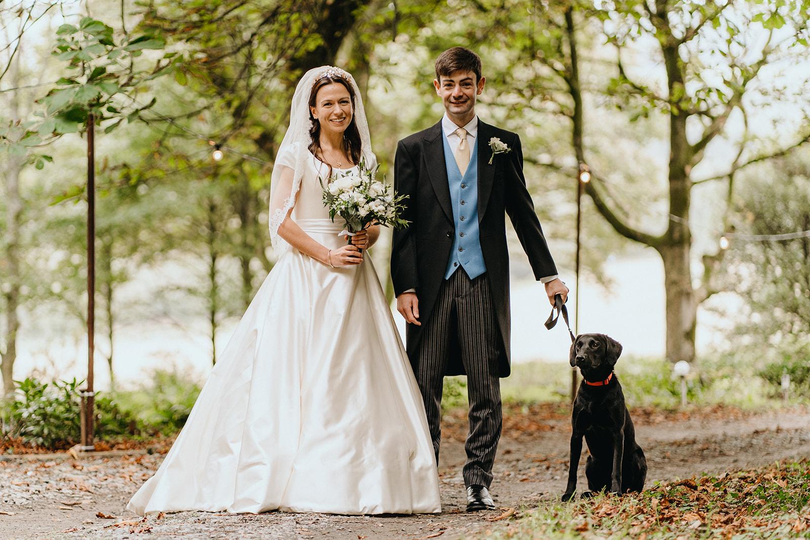 Real-Bride-Poppy's-Duchess-Satin-Wedding-Dress