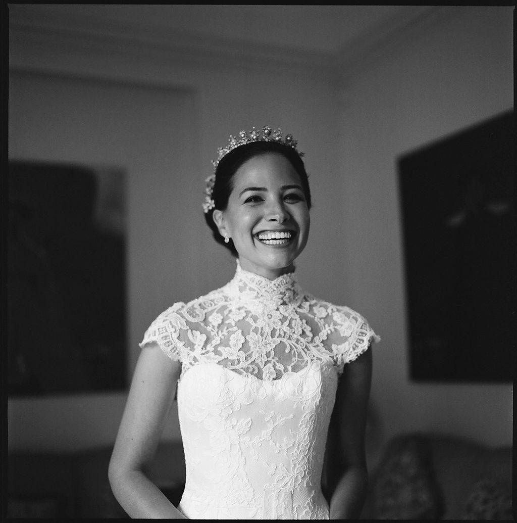 Serena Guen Phillipa Lepley Real Bride Couture wedding dress